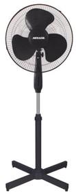 HELLER  40cm Pedestal Fan (Black)