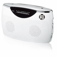 PYE Portable AC/DC Radio (White)