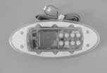 11009, Topside Control, K-51, Curved, MSPA, Pack, No Overlay, w/Brackets