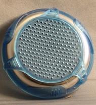 """14645-Stereo, Speaker Cover, Custom SS, BL Blue, 2"""" tweeter, 2011"""