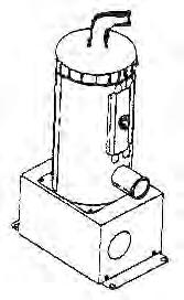 10704, Cord, Vertical Heater, 220 V