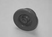 10644, Jet, Standard, Mini, Retainer Ring Style, Gray