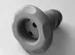 10618, Jet, Poly, Textured, 5 Scallop, Pulsator, Standard, Gray
