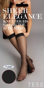 Sheer Elegance Knee Highs 2pairs
