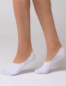 Plain Footlets 2 pack