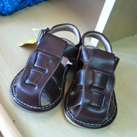 Brown Squeaky Sandals