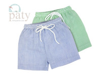 Paty Boys Seersucker Swim Trunks Toddler