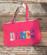 Pink colorful Dance  Bag