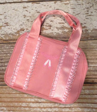 Pink Lace Dance Bag