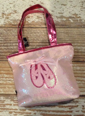 Pink Sparkle Dance Bag