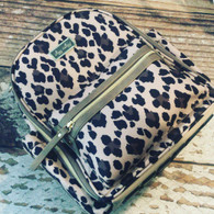 Itzy Ritzy Mini Backpack Diaper Bag- Leopard