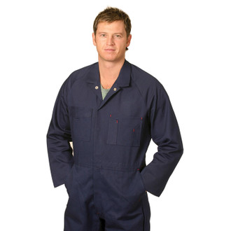 Model wears Navy Coverall