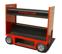 Tire Rack Cart Pitbox
