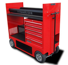 Tire Rack w/Drawers Pitbox