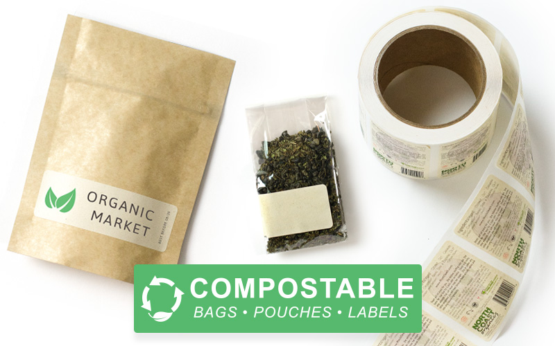Compostable Packaging and Labels