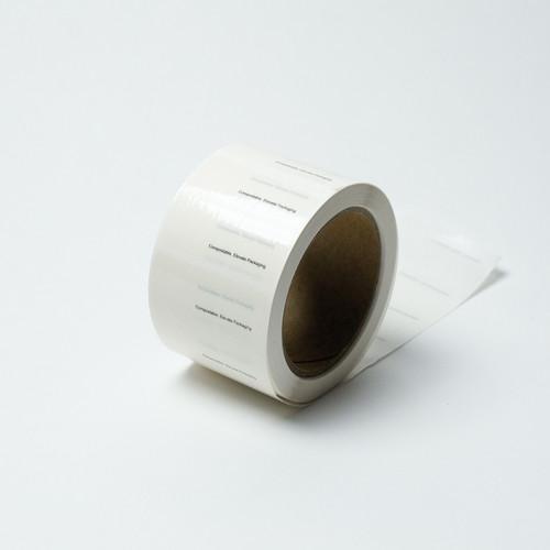 Compostable closure tape