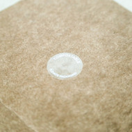"1"" Compostable Round Closure Tabs"