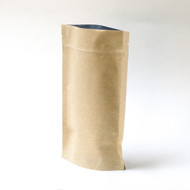 "Kraft 5.6"" x 8.75"" x 3"" Compostable Stand Up Pouch [100 Bags]"