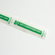 "3.5 x 1"" Compostable Reseal Tape"
