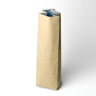 12oz  Kraft Compostable Coffee Bag w/ valve [250 Bags]