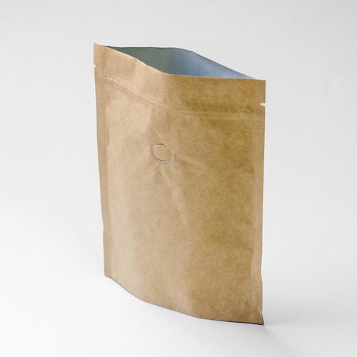 Compostable Kraft Coffee Bag with Valve