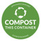 Compost Sticker - Compost This Container