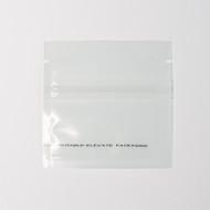 "3 x 3"" Transparent Compostable Flat Pouches [Imperfect]"