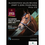 Bloodstock Sales Review - Part 1 2018