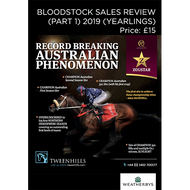 Bloodstock Sales Review - Part 1 2019