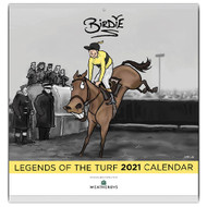 Birdie 'Legends of the Turf' Wall Calendar 2021