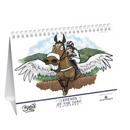 Birdie 'Legends of the Turf' Desk Calendar 2021