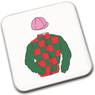 Racing Silks Coasters (create your own) - pack of 4
