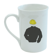 Racing Silks Bone China Mug (create your own)