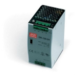 """""""Power Supply, 120 Watts, 5 Amps, 24 VDC output, 88-132 VAC input, DIN Rail mounted"""" (AE-DR-120-24)"""