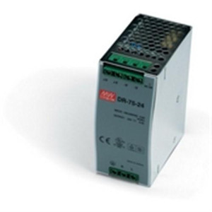 """""""Power Supply, 75 Watts, 3.125 Amps, 24 VDC output, 85-264 VAC input, DIN Rail mounted"""" (AE-DR-75-24)"""