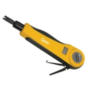 Punch Down Tool with 110 Blade; Pro-Impact Version with Tension Adjustment (questt_TEL-6090)