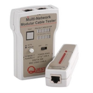 Tester; Coaxial and LAN Cable Tester (questt_TTE-9000)