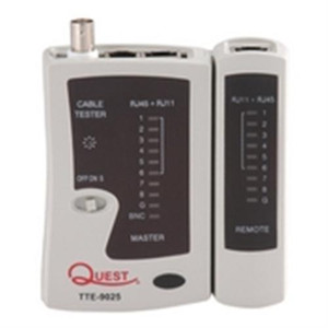 Tester; Economy Coaxial and LAN Cable Tester (questt_TTE-9025)