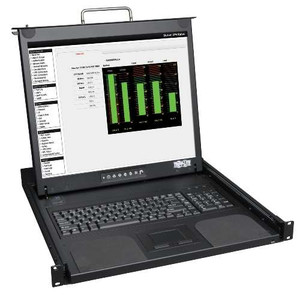Rackmount Console - 1U Short-Depth Rackmount Console with 19 LCD