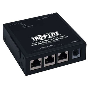 3-Port IP Serial Console/Terminal Server Built-in Modem for Out-of-Band Access (tripp_B095-003-1E-M)