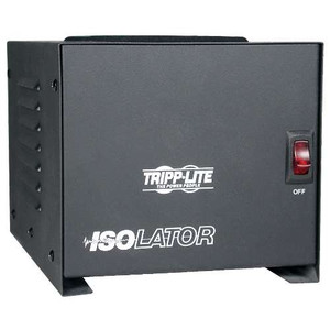 """Isolator Series 120V 1000W Isolation Transformer-Based Power Conditioner, 4 Outlets"" (tripp_IS-1000)"