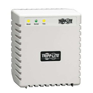 """""""600W 120V AVR Line Conditioner, Tower, Power Conditioner, AC Surge Protector, 6 Outlets"""" (tripp_LS606M)"""