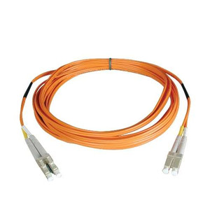Multimode Fiber Optics 3-meter (10-ft.) Duplex MMF 50/125 Patch Cable; LC/LC
