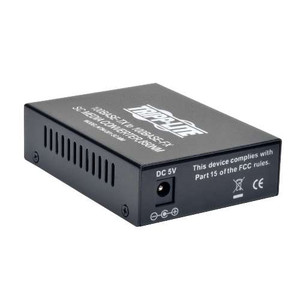 """10/100 SC Multimode Media Converter, 550M, 850nm"" (tripp_N784-001-SC-MM)"