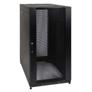 25U SmartRack Standard-Depth Server Rack Enclosure Cabinet with doors & side panels (tripp_SR25UB)