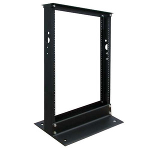13U SmartRack 2-Post Open Frame Rack - Organize and Secure Network Rack Equipment (tripp_SR2POST13)