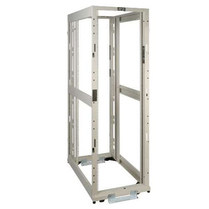 """42U SmartRack 4-Post White Premium Open Frame Rack - no sides, doors or roof"" (tripp_SR42UWEXPNDNR3)"