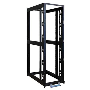 """48U SmartRack  4-Post Premium Open Frame Rack - no sides, doors or roof"" (tripp_SR48UBEXPNDNR3)"