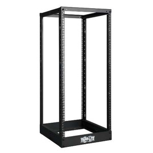 SmartRack 4-post open frame racks are ideal for cost conscious 19 inch rack mount applications. Multiple units can be bolted together side by side.