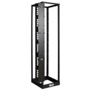 SmartRack 6 in. Wide High Capacity Vertical Cable Manager - Double finger duct with cover (tripp_SRCABLEVRT6)